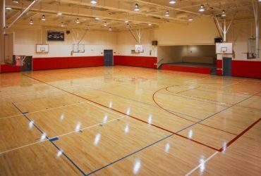 баскетболни и волейболни игрища
