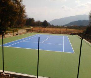 Тенис корт - Симитли